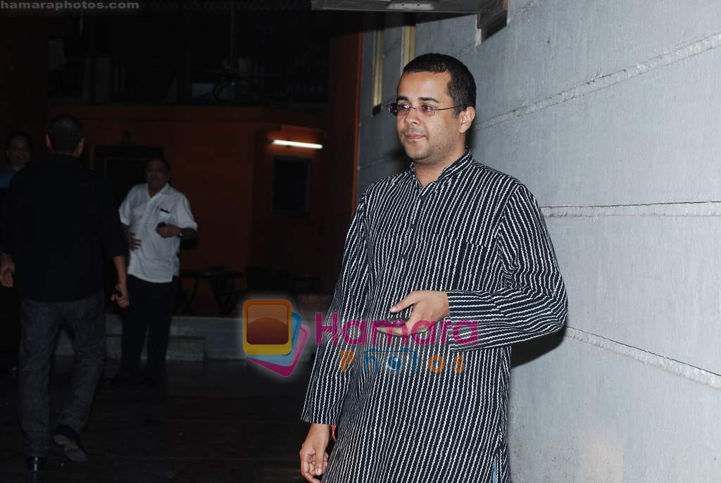 Chetan Bhagat at the special screening of Raat Gayi Baat Gayi in Star House on 29th Dec 2009