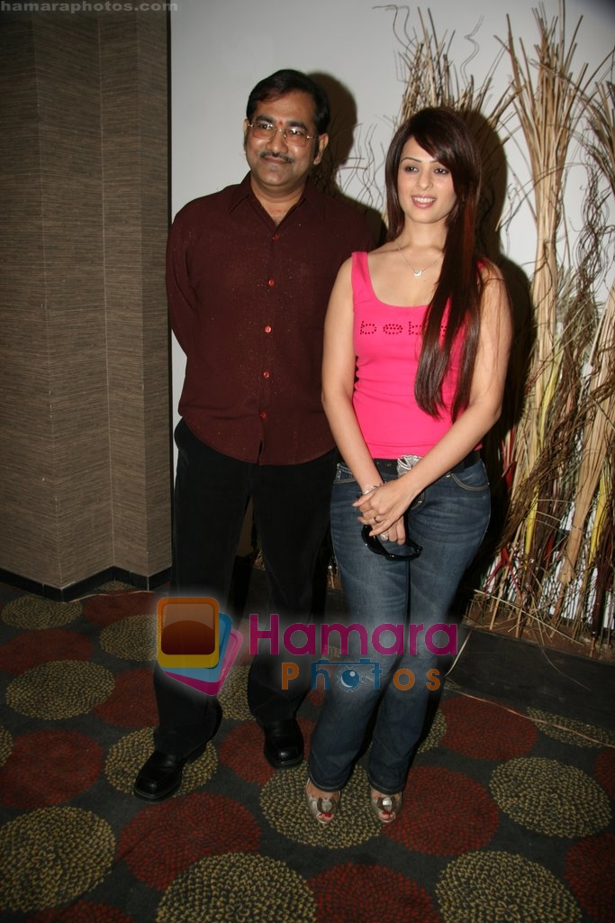 Anjana Sukhani, Sudesh Bhosle at Saharastar New Year Bash in Saharastar, Vileparle, Mumbai on 29th Dec 2009