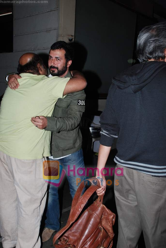 Saurabh Shukla at the special screening of Raat Gayi Baat Gayi in Star House on 29th Dec 2009
