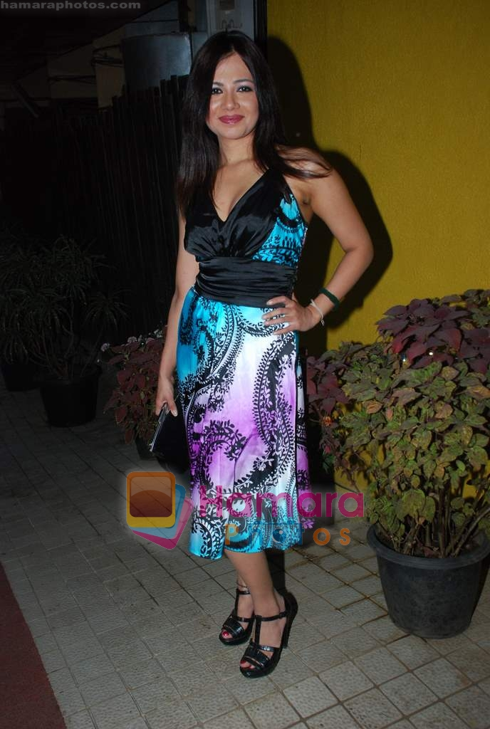 at Mission 11 July film press meet in Orvital Restaurant on 29th Dec 2009