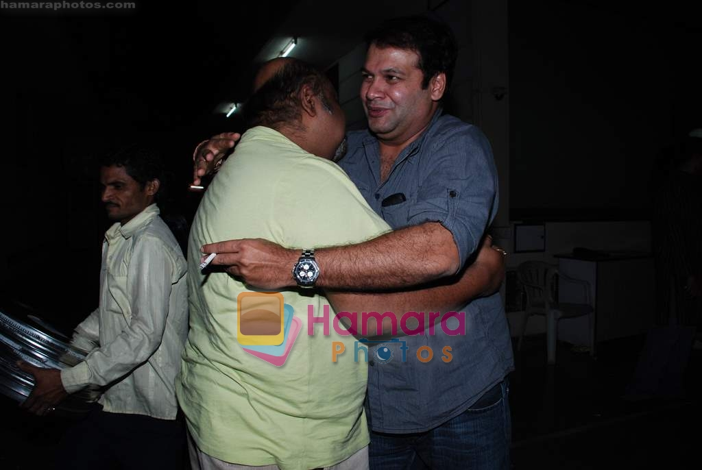 Suresh Menon, Saurabh Shukla at the special screening of Raat Gayi Baat Gayi in Star House on 29th Dec 2009