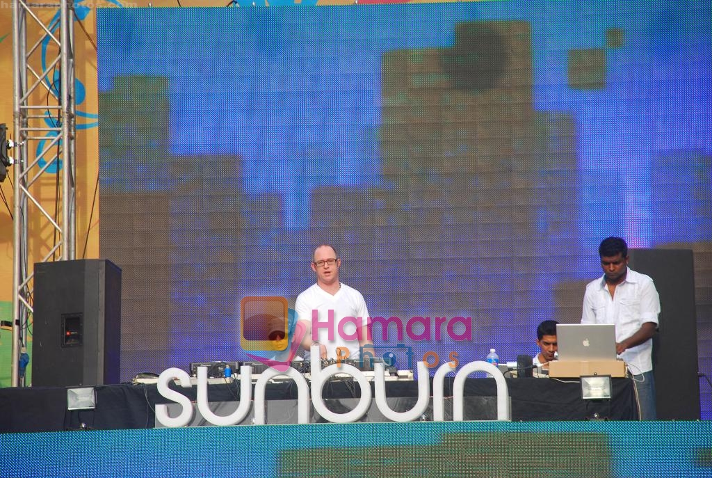 at Sunburn 2009 Festival in Candolim Goa on 29th Dec 2009
