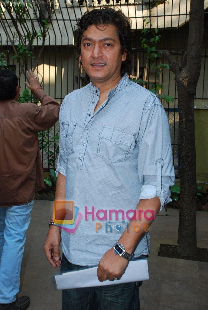 Aadesh Shrivastav at Musicians thank Indian Govt for Royalties in Press Club on 29th Dec 2009