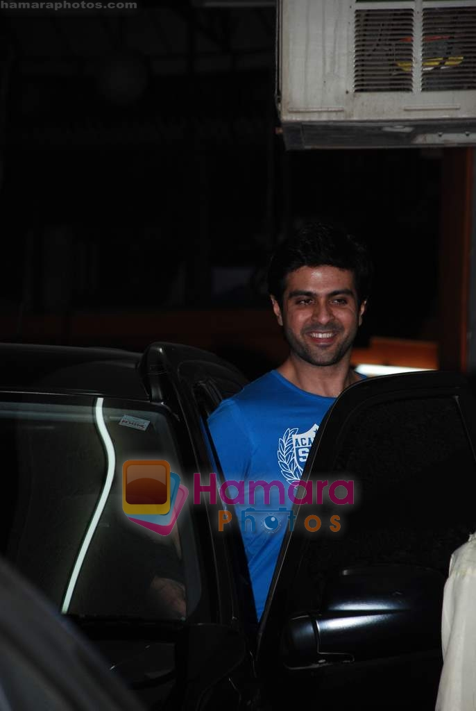 Harman Baweja at the special screening of Raat Gayi Baat Gayi in Star House on 29th Dec 2009