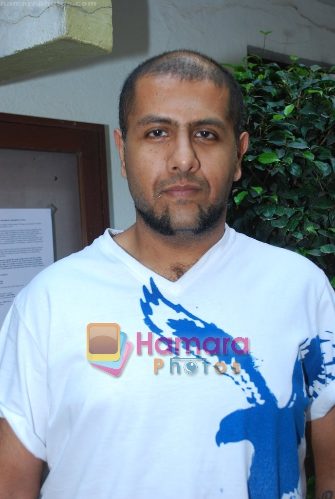 Vishal Dadlani at Musicians thank Indian Govt for Royalties in Press Club on 29th Dec 2009