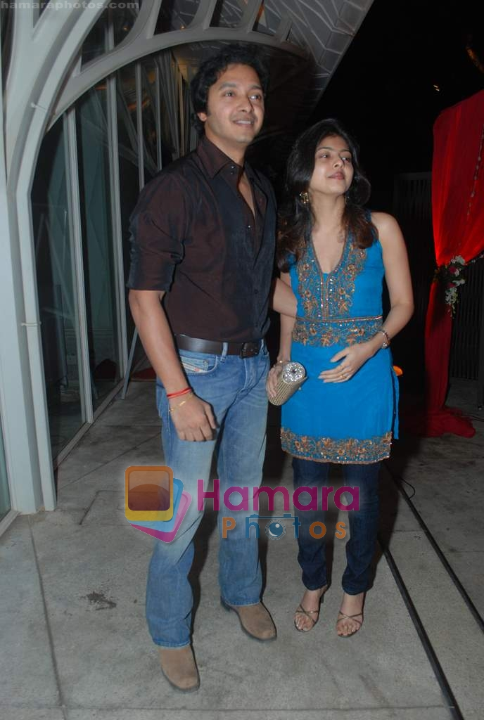 Shreyas Talpade at Rishi Darda's annual bash in Tote, Worli on 29th Dec 2009