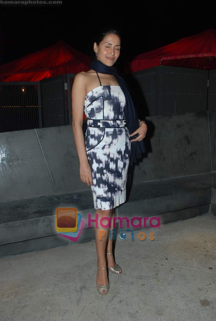 Tupur Chatterjee at Rishi Darda's annual bash in Tote, Worli on 29th Dec 2009