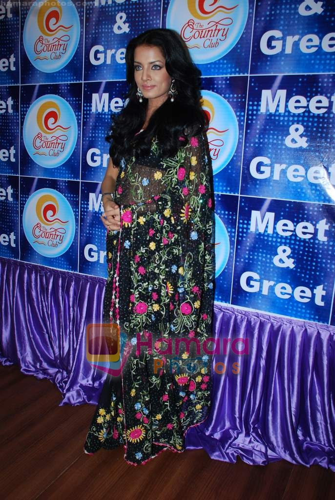 Celina Jaitley at Country Club New Year's bash press meet in Country Club, Andheri on 30th Dec 2009