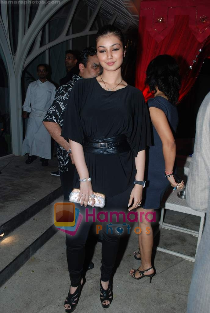Ayesha Takia at Rishi Darda's annual bash in Tote, Worli on 29th Dec 2009