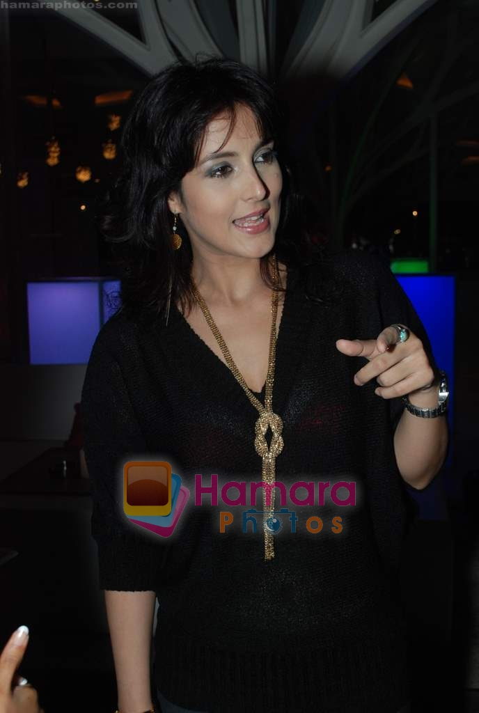 Tulip Joshi at Rishi Darda's annual bash in Tote, Worli on 29th Dec 2009