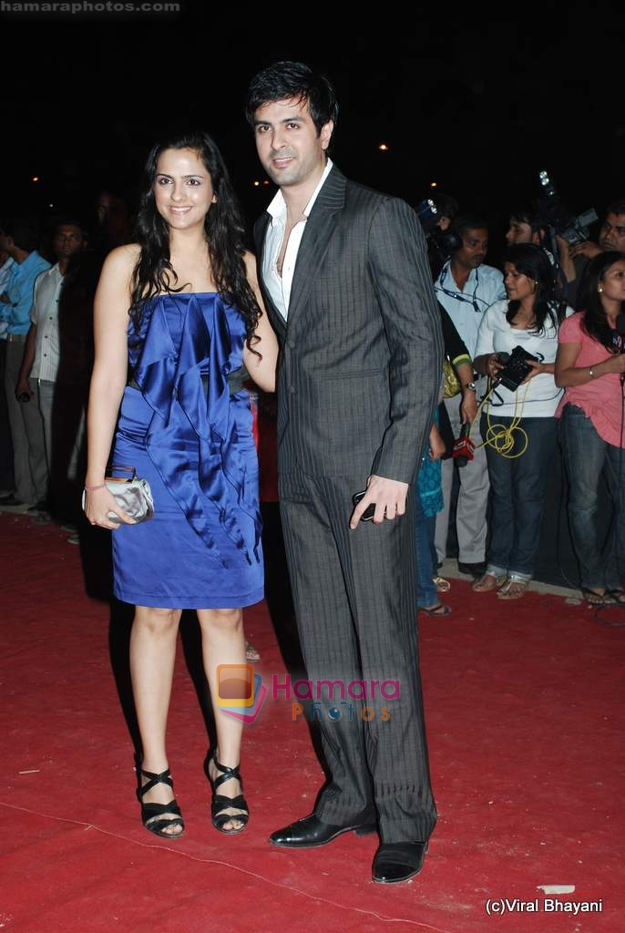 Harman Baweja at Star Screen Awards red carpet on 9th Jan 2010
