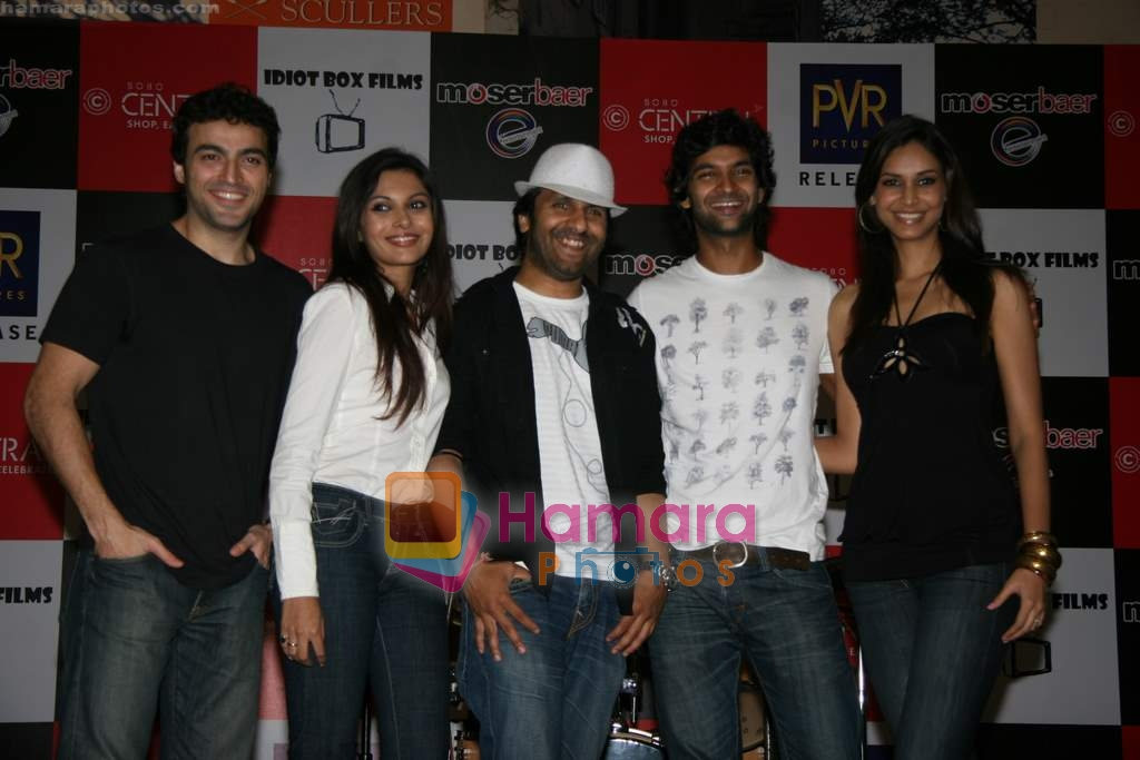Shawn Arranha, Ayaz Khan, Mrinalini Sharma, Purab Kohli, Amruta Patki at live show in Targeo, Sobo Central on 6th March 2010
