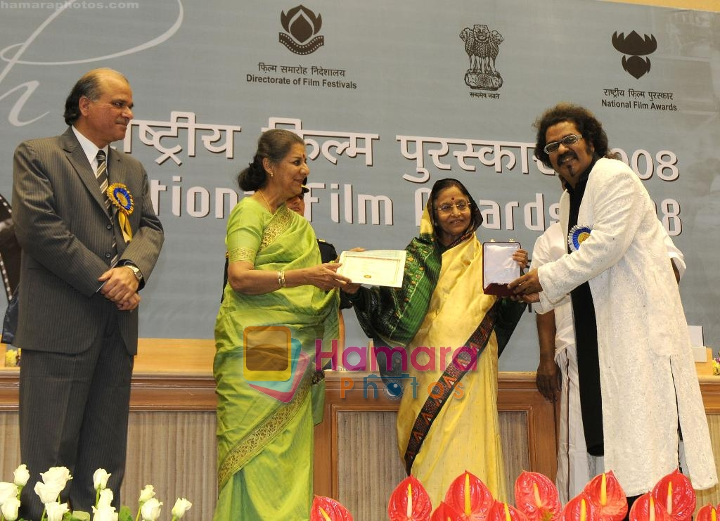 at 56th National Film Awards function in New Delhi on March 19th March 2010