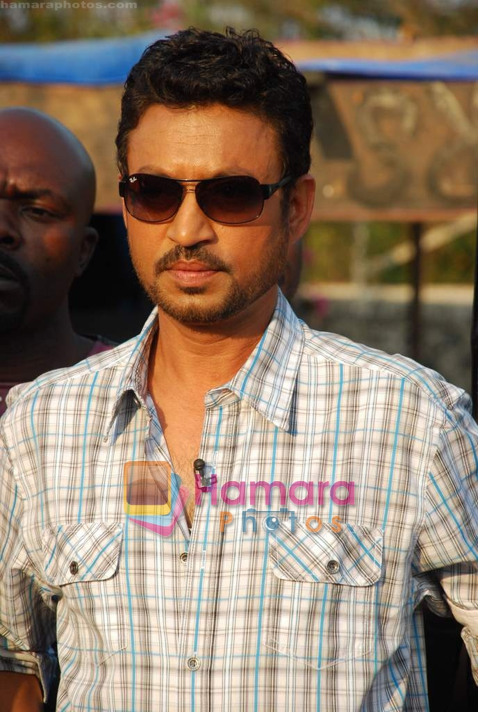 Irrfan Khan of the sets of MTV Roadies in Andheri on 23rd March 2010