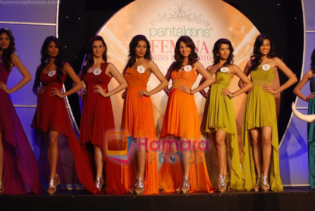 at Pantaloon Femina Miss India 2010 unveils finalists in Grand Hyatt on 23rd March 2010