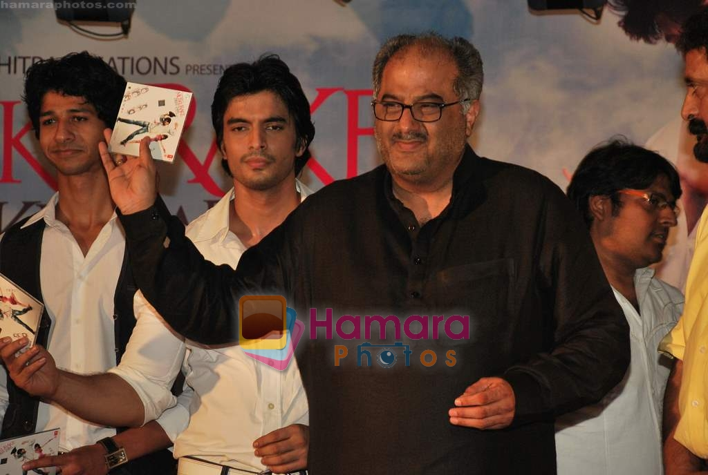 Boney Kapoor at the music launch of Muskura Ke Dekh Zara in Imperial Hall on 26th March 2010