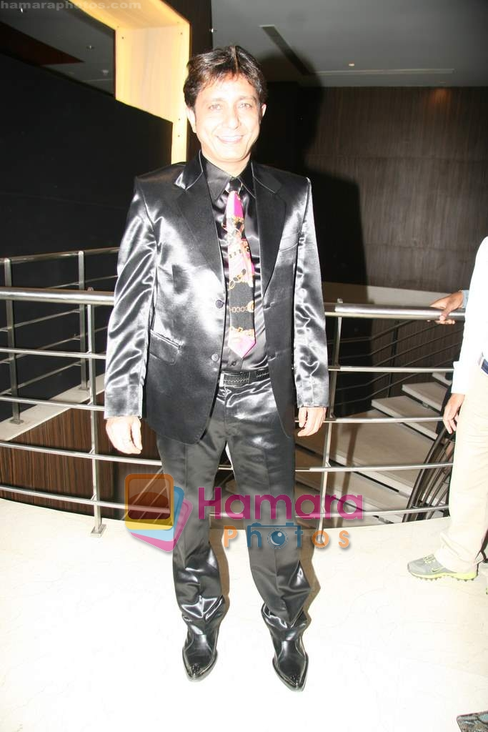 Sukhwinder Singh at Sukhwinder Singh's debut film Kuch Karriye music launch in Novotel on 27th March 2010