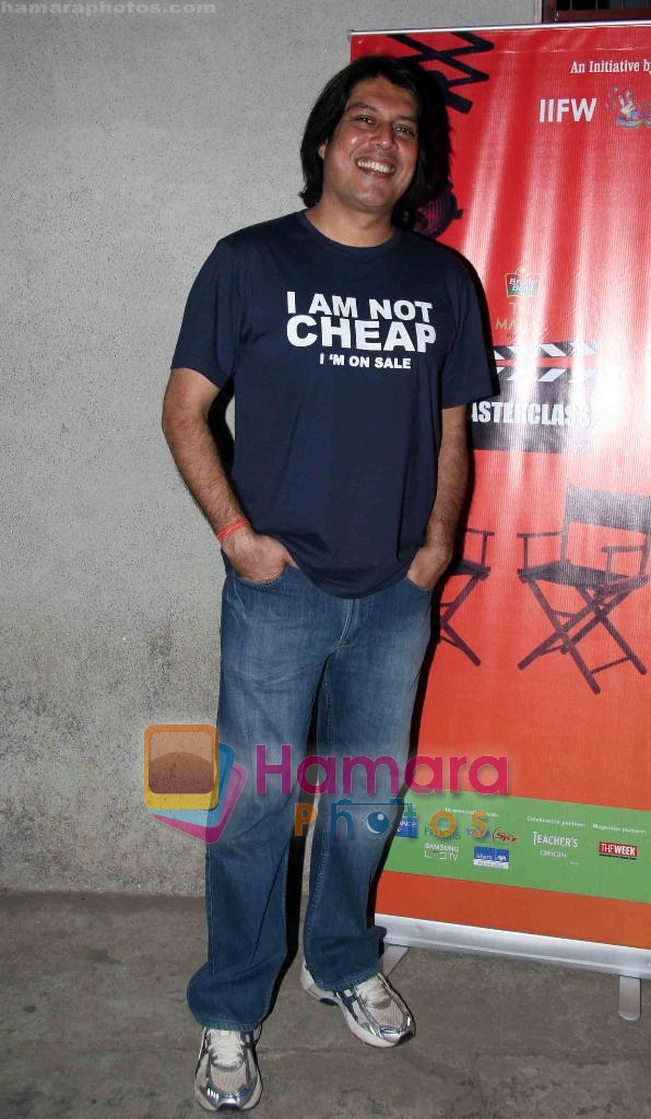 Piyush Jha at Sudhir Mishra's IIFW in Blue Frog on 29th March 2010