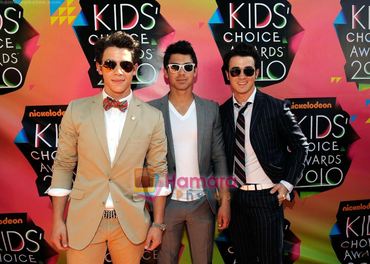 at Nickelodeon's 23rd Annual Kids Choice Awards in Los Angeles on 27th March 2010