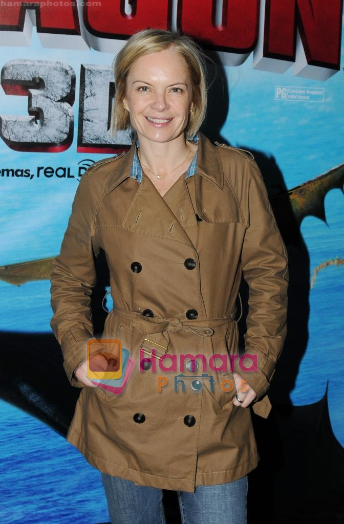 at How to Train your Dragon UK premiere on 28th March 2010