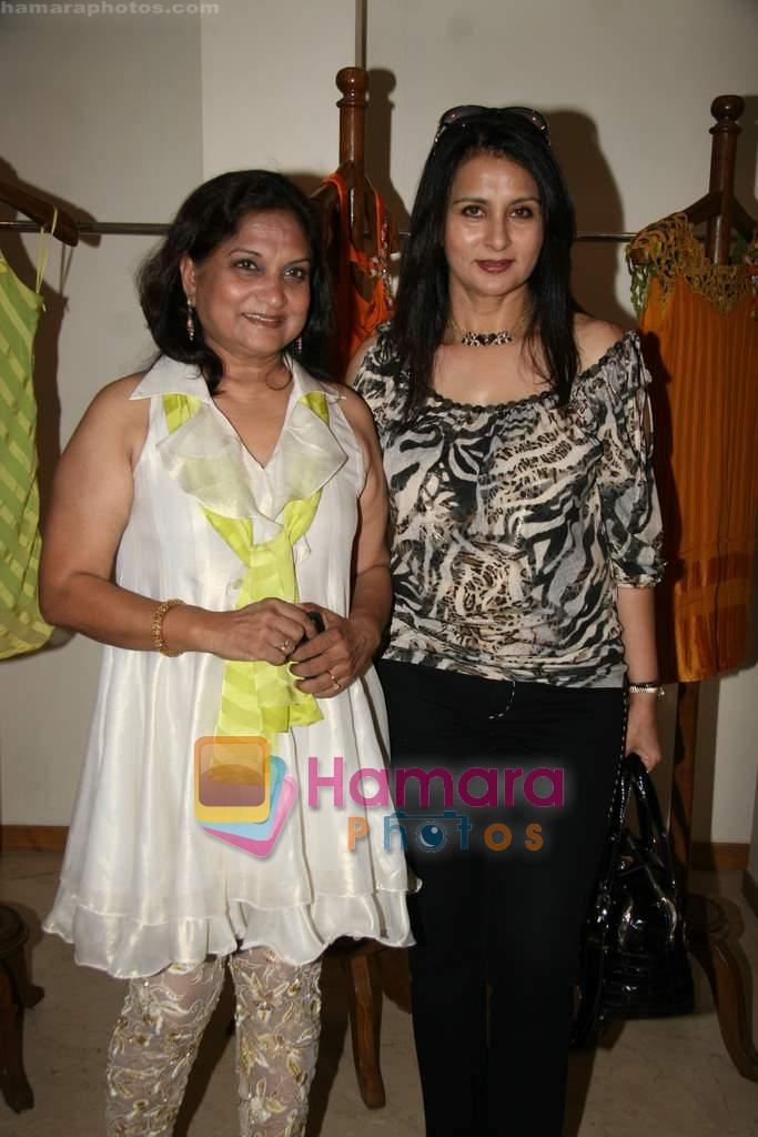 Poonam Dhillon at the Launch of Nisha Sagar's Summer wear collection in Juhu on 30th March 2010