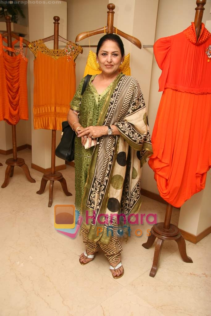Anju Mahendroo at the Launch of Nisha Sagar's Summer wear collection in Juhu on 30th March 2010