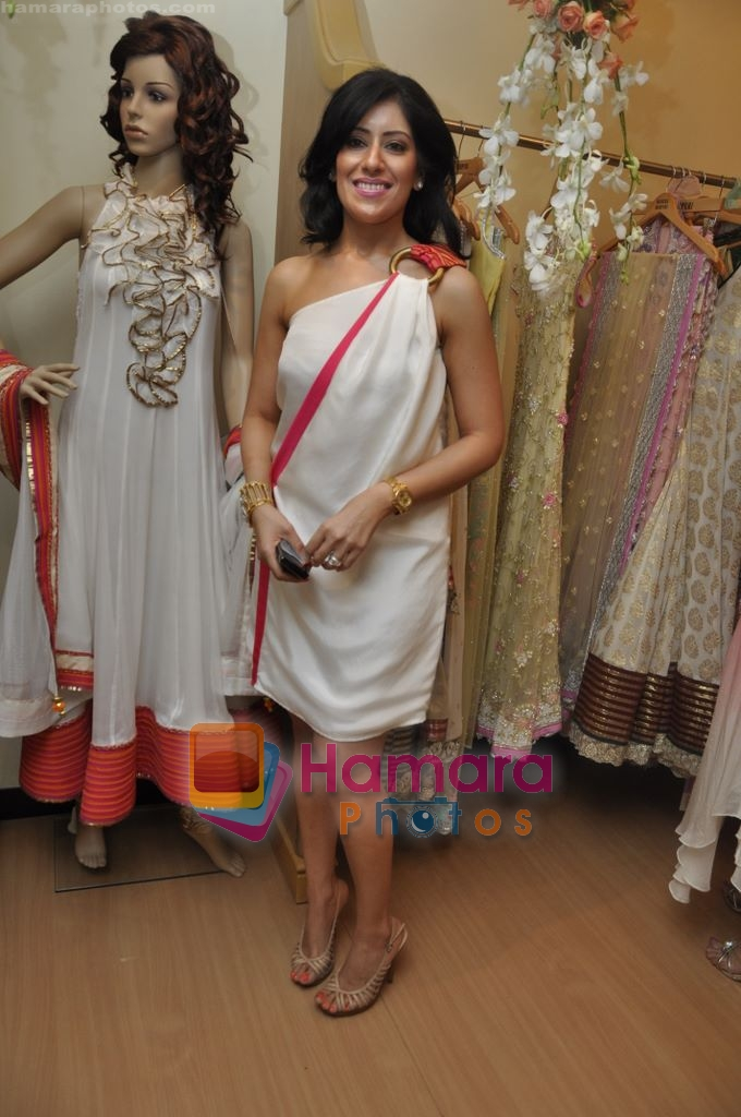 at Maheka Mirpuri's Summer white collection launch in Prabhadevi, Mumbai on 30th March 2010