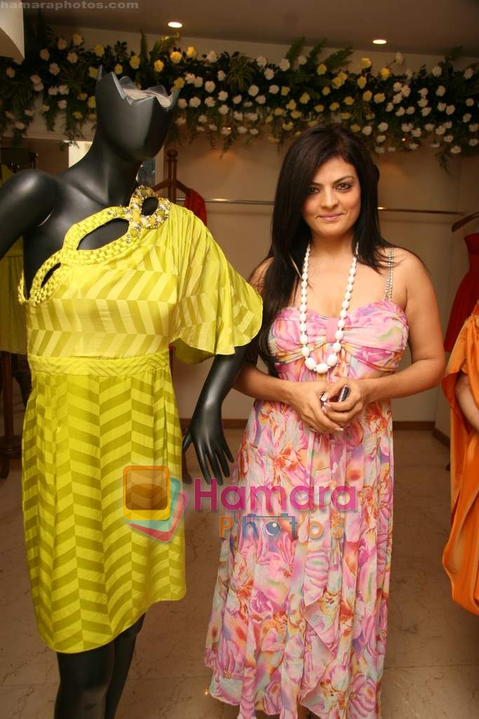 Sheeba at the Launch of Nisha Sagar's Summer wear collection in Juhu on 30th March 2010