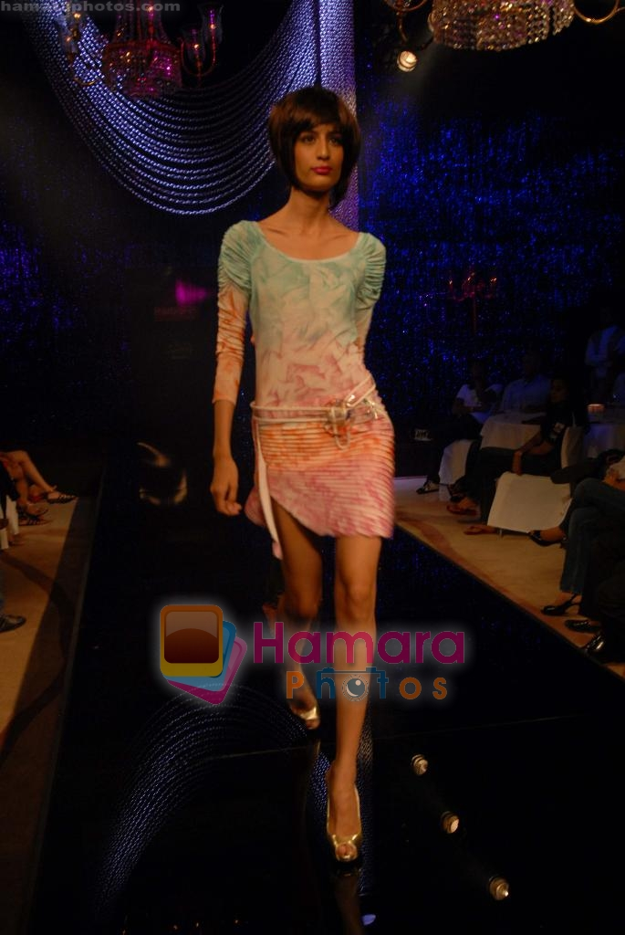 Model at Mandira Wirk show on 29th March 2010