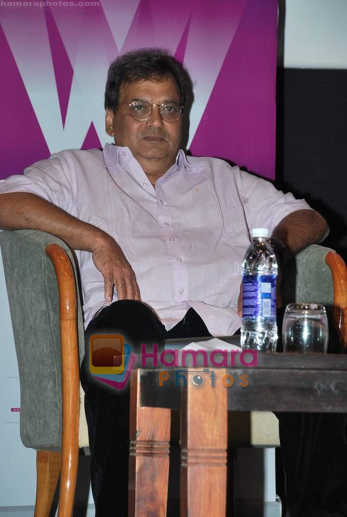 Subhash Ghai at Whistling Woods in Goregaon on 31st March 2010