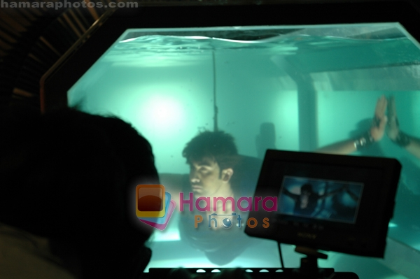 Ranbir Kapoor's water phobia and underwater adventure on 31st March 2010