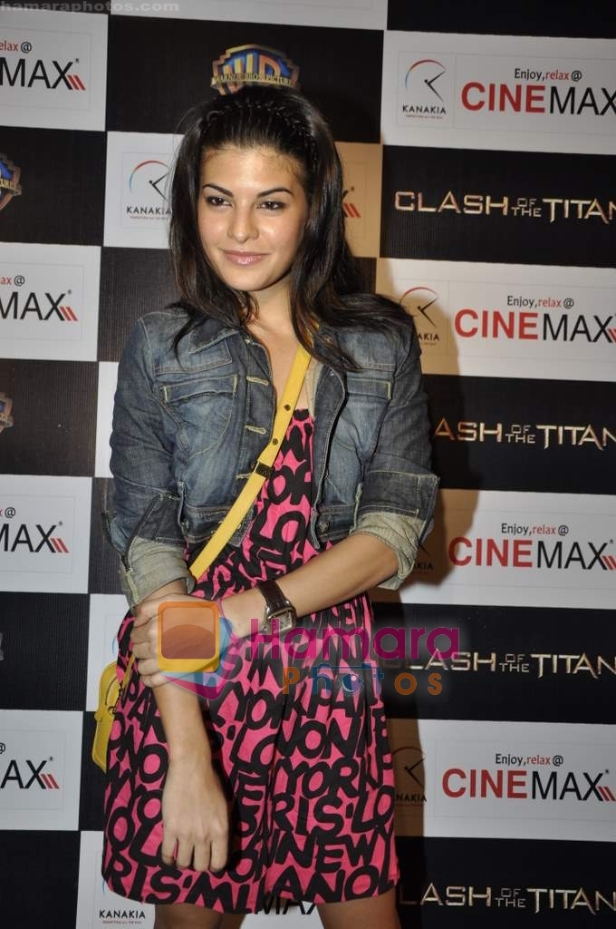 Jacqueline Fernandez at Clash of the Titans premiere in Cinemax on 31st March 2010