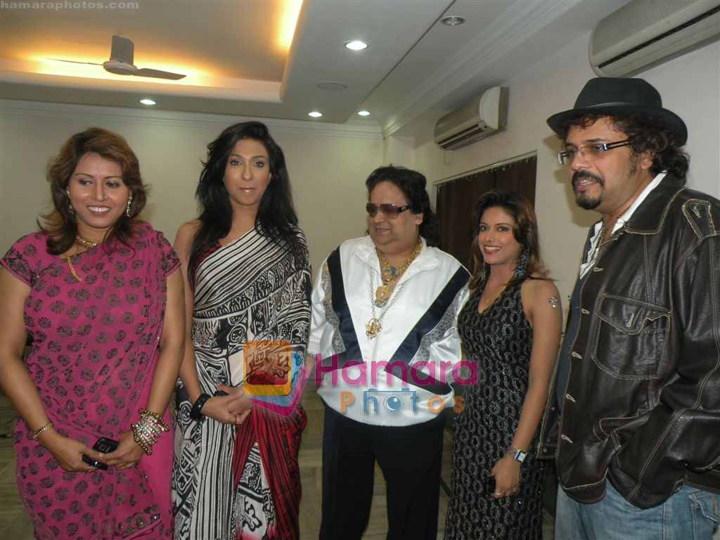 Rituparna Sengupta, Bappi Lahari at Sneha Paul's Birthday Party on 1st April 2010