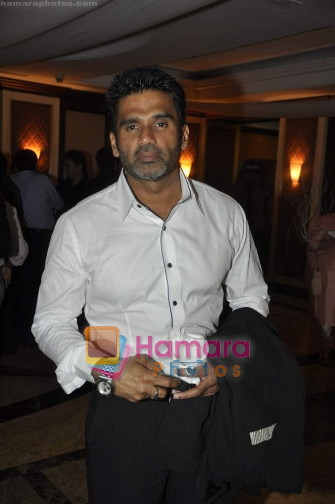 Sunil Shetty at Neelam and Nriti Shah Show on 1st April 2010
