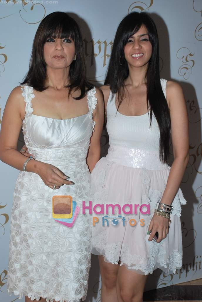 Neeta Lulla, Nishka Lulla at Neelam and Nriti Shah Show on 1st April 2010