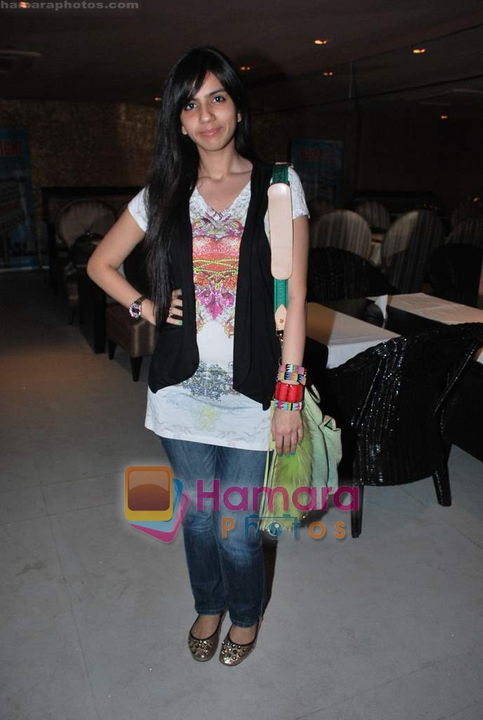 Nishka Lulla at Bharata N Dorris Hair & Make-up Fashion week announcement in Andheri on 6th April 2010