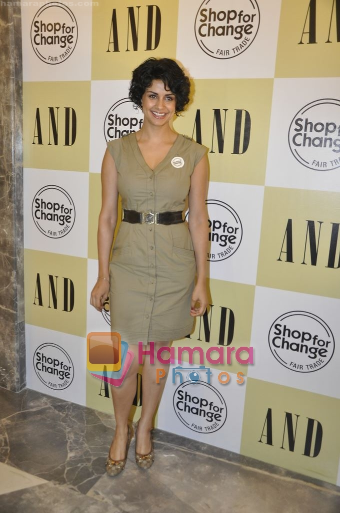 Gul Panag at AND-Shop for change initiative in AND store, mumbai on 28th April 2010