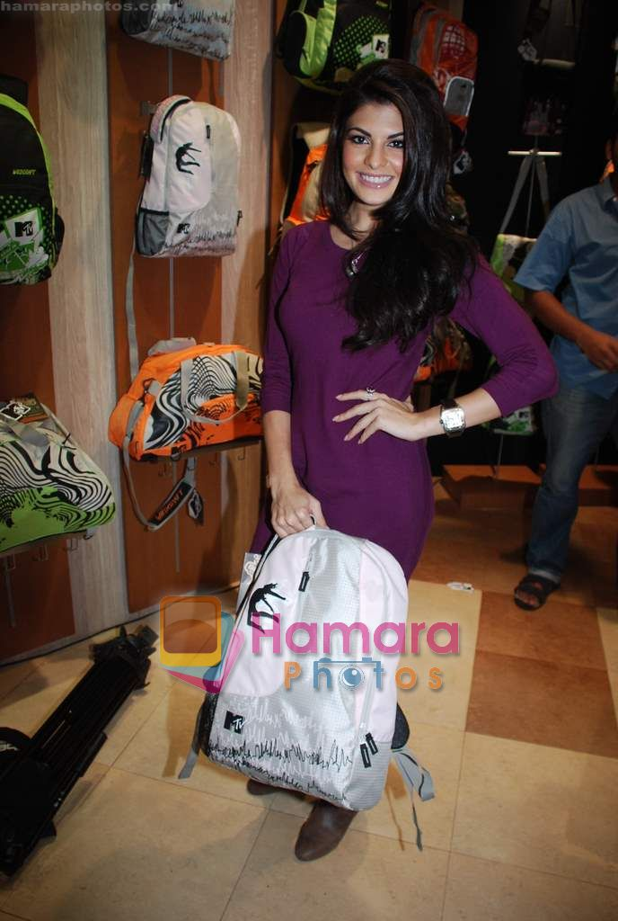 Jacqueline Fernandez at the launch of MTV Wildcraft - range of bags and adventure gear in Bandra on 21st July 2010