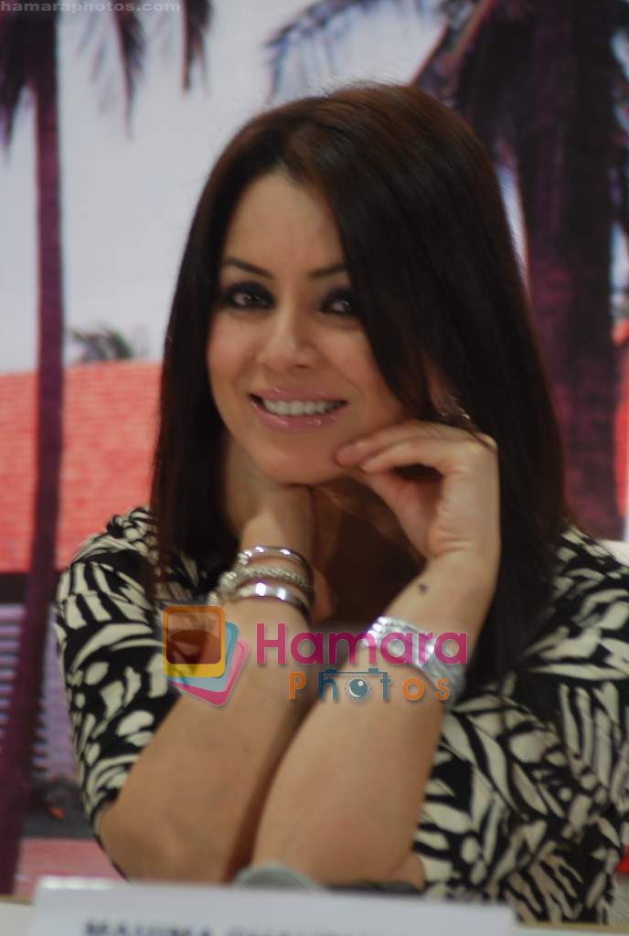 Mahima Chaudhary at Country Club Pan India spa launch in Andheri on 14th Sep 2010
