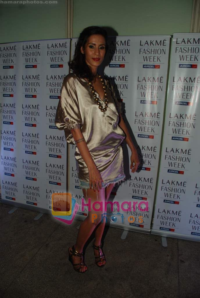 at Narendra Kumar's Show at Lakme Winter opening night in Tote on 16th Sept 2010