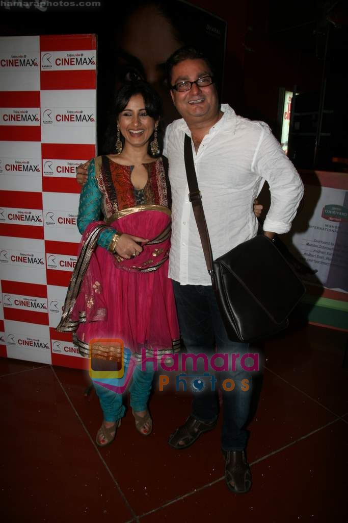 Divya Dutta, Vinay Pathak at Life Express film premiere in Cinemax on 16th Sept 2010