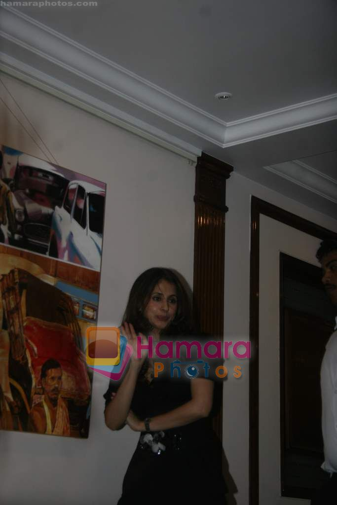 Urmila Matondkar at Shabana Azmi's 60th birthday bash in Juhu, Mumbai on 18th Sept 2010