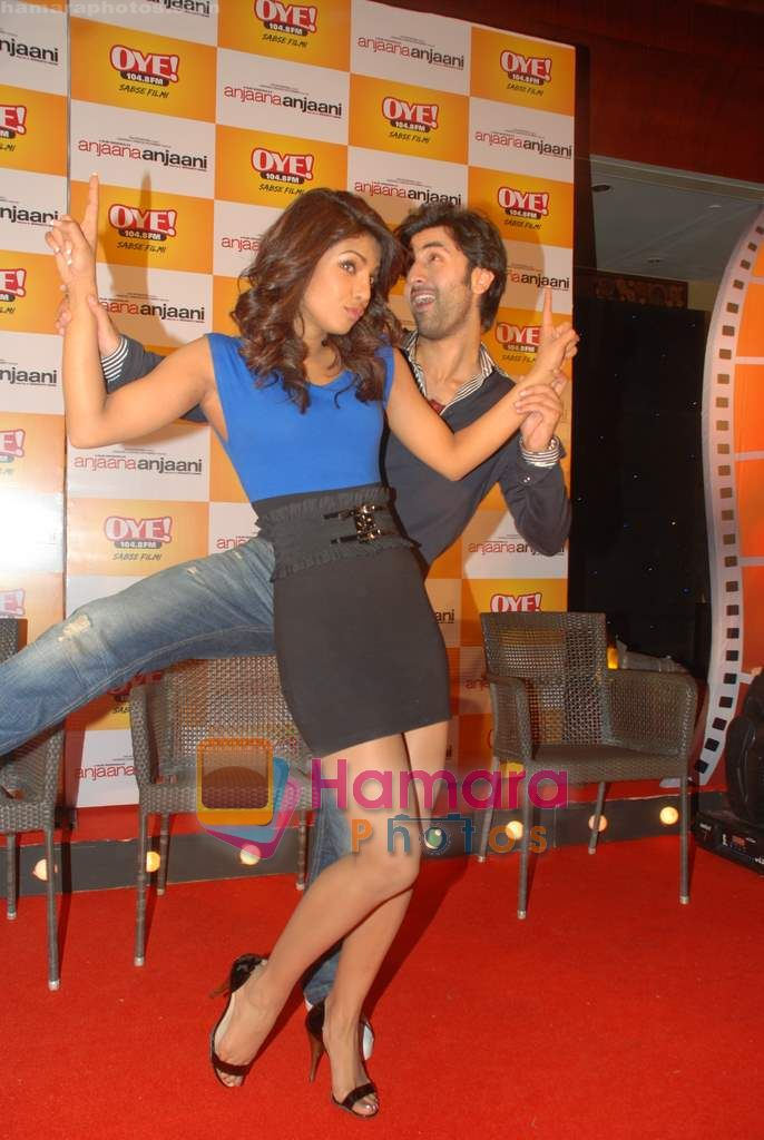 Ranbir Kapoor and Priyanka Chopra launch Oye FM  in Novotel on 18th Sept 2010