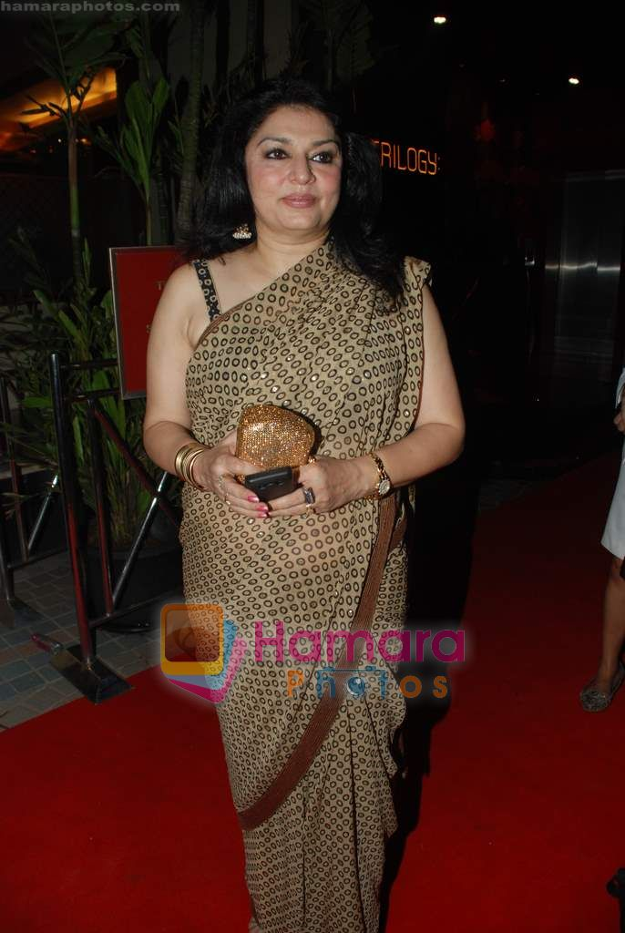 Kiran Juneja at Shabana Azmi's 60th birthday bash in Juhu, Mumbai on 18th Sept 2010