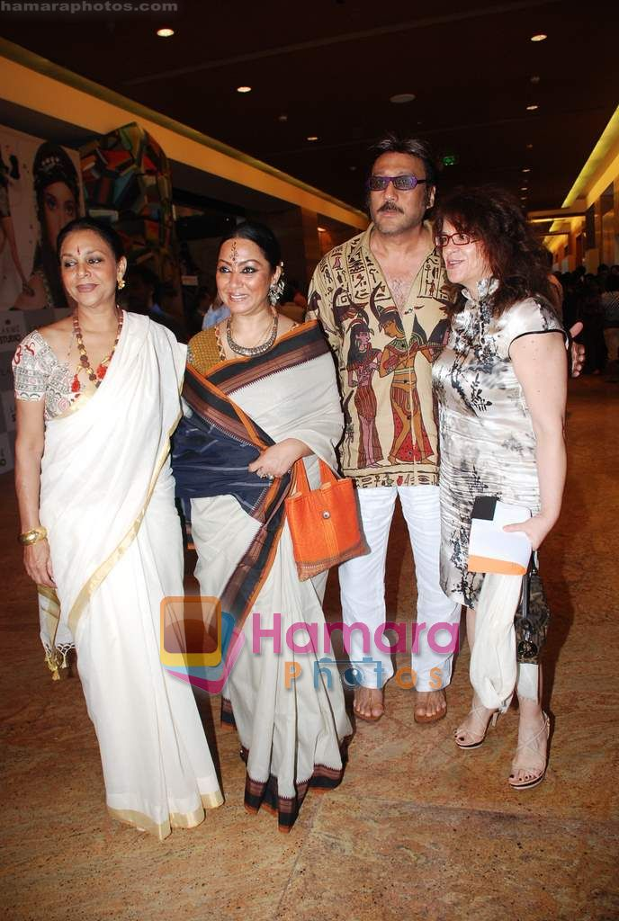 Jackie Shroff at Lakme Winter fashion week 2010 day 3 on 19th Sept 2010