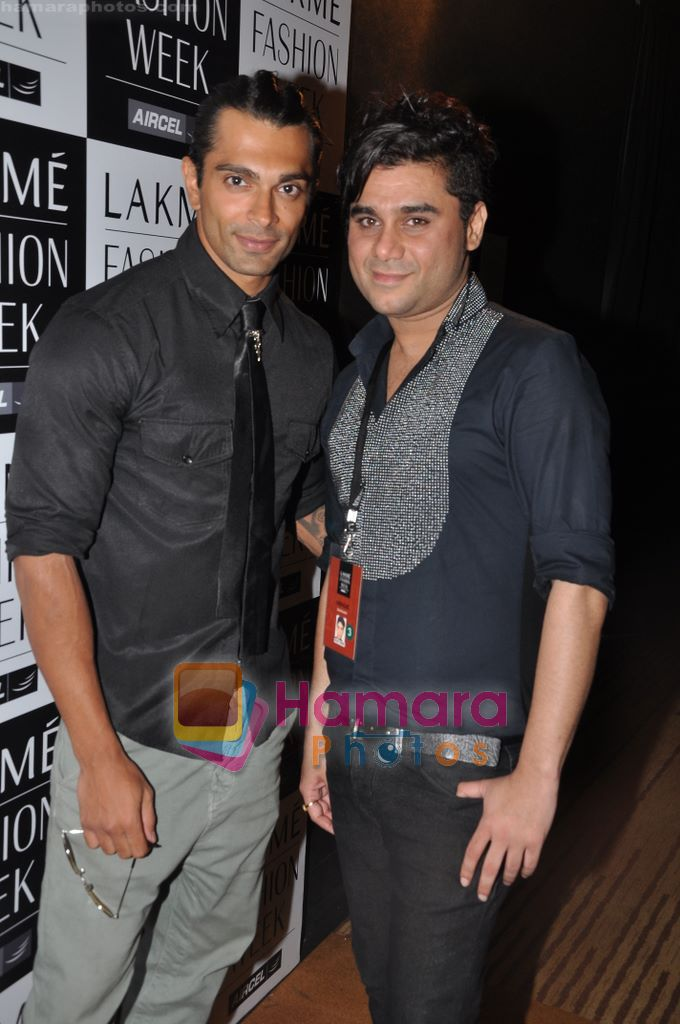 at Rajat Tangri Show at Lakme Winter fashion week day 3 on 19th Sept 2010