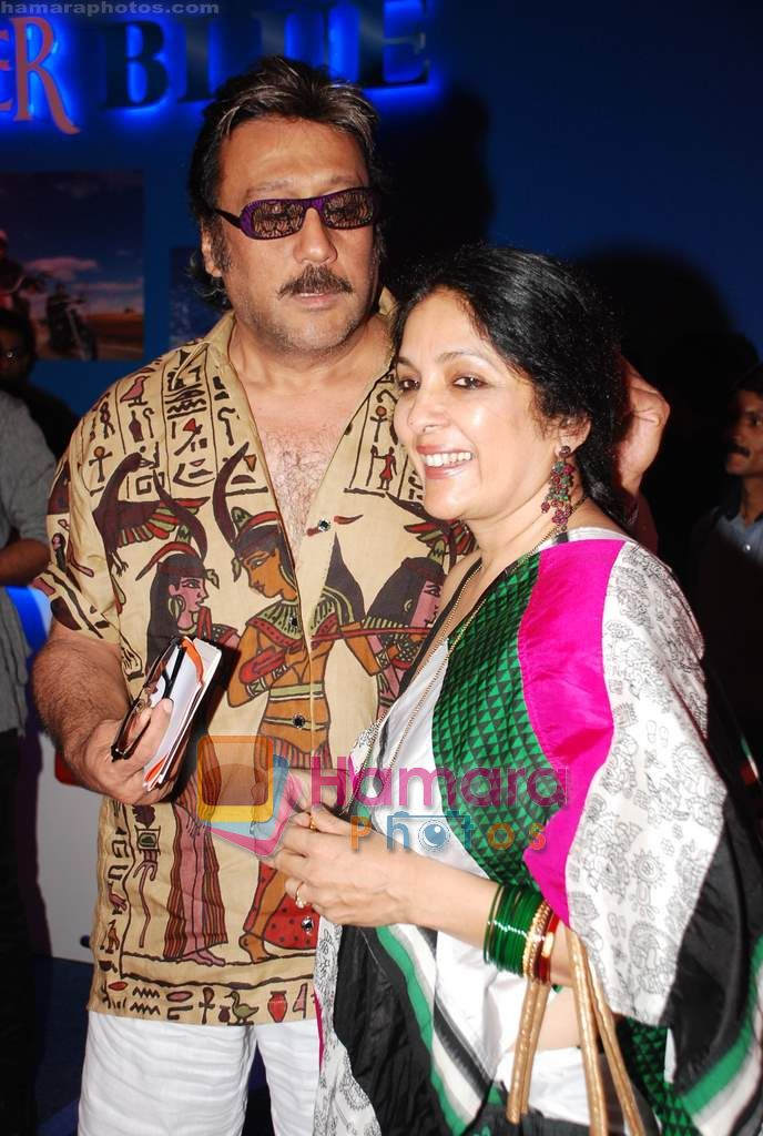 Jackie Shroff, Neena Gupta at Lakme Winter fashion week 2010 day 3 on 19th Sept 2010 ~0