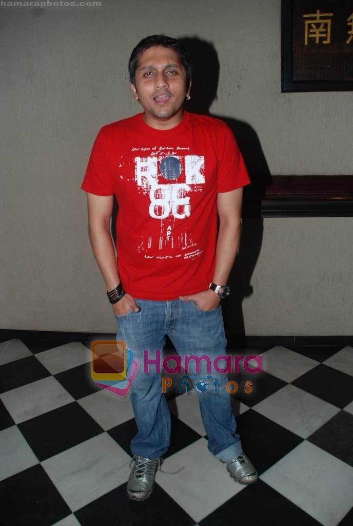 Mohit Suri at Being Human show after party in Balthazar, Juhu, Mumbai on 9th Oct 2010