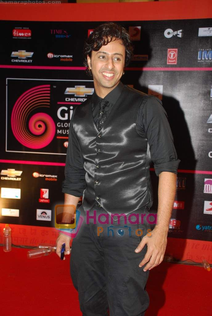 at Global Indian music Awards in Yashraj on 10th Nov 2010