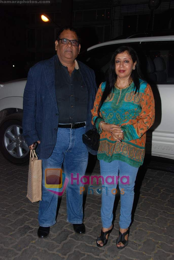 Satish Kaushik at Anil Kapoor's bday bash in Juhu on 23rd Dec 2010